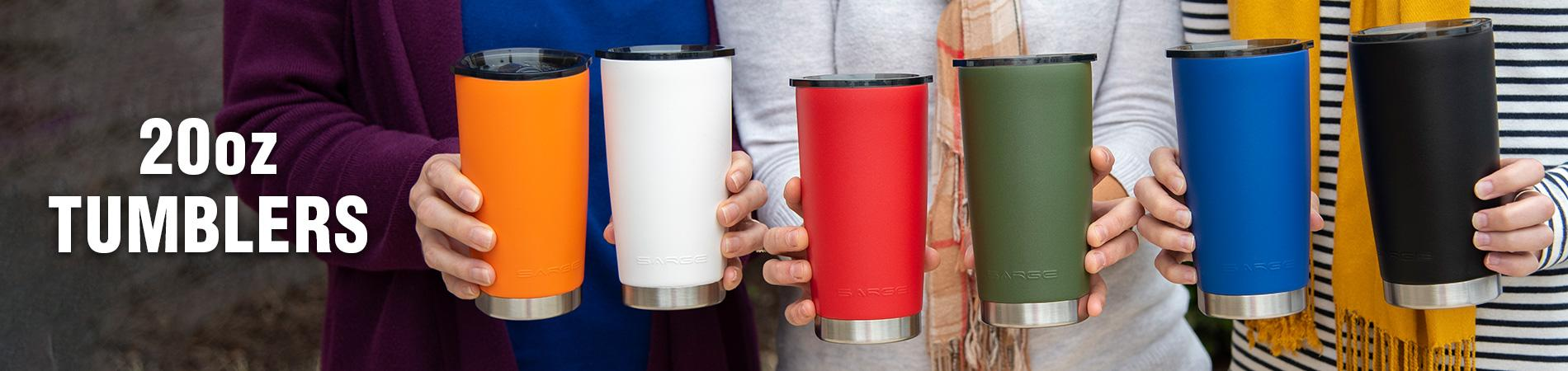Stainless Steel Tumblers - 20oz & 30oz