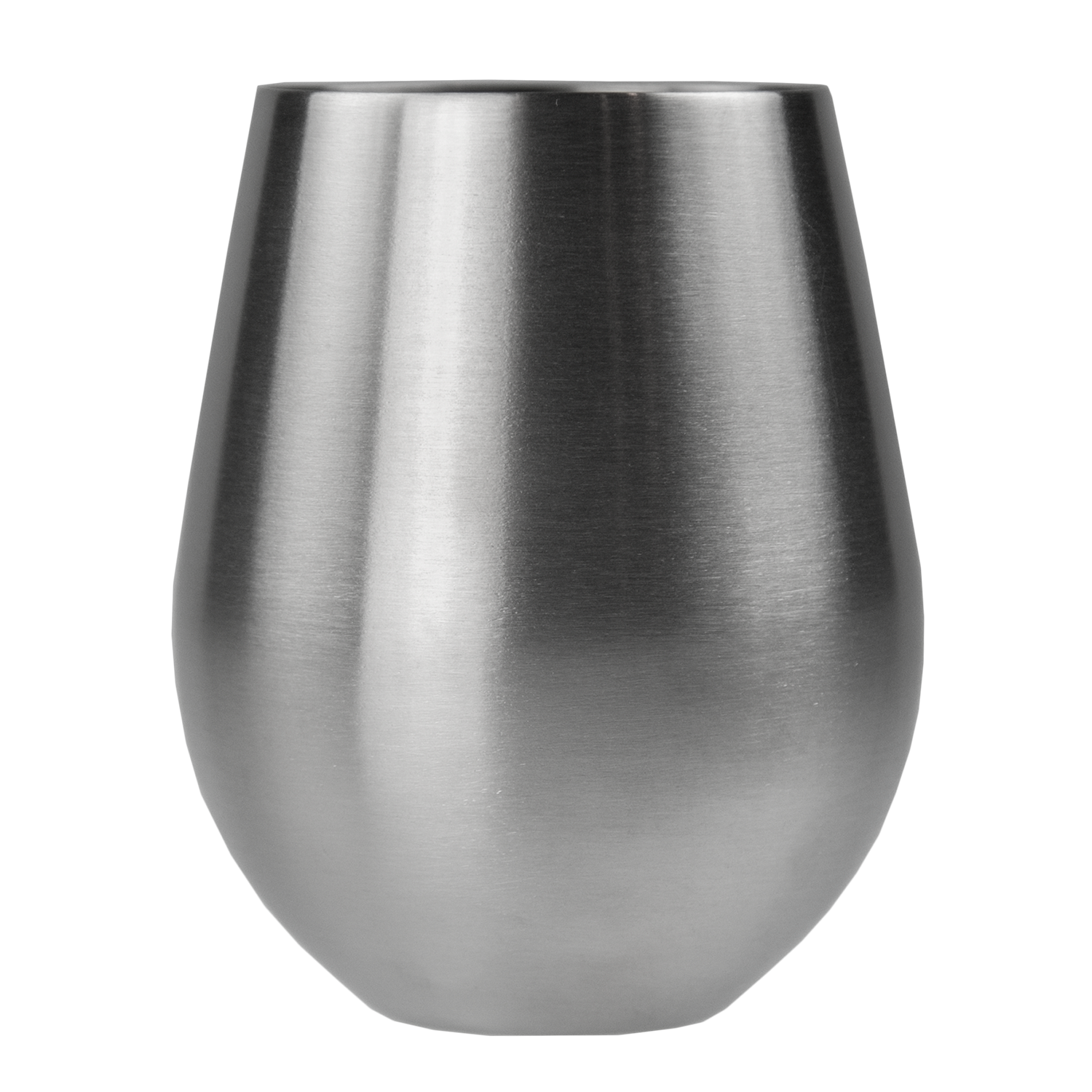 vino stainless steel stemless wine glass