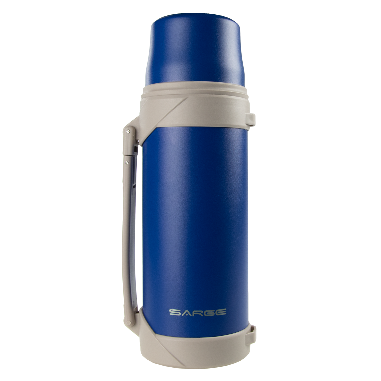 Big T 40oz Blue Thermos