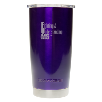 20oz Metallic Purple Sarge Promo Desert Cup