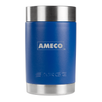 Blue Promo Can Cooler