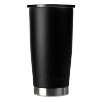 20oz Black Gator Coated Tumbler