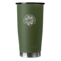 20oz Green Gator Coated Tumbler