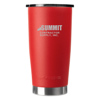 20oz Red Gator Coated Tumbler