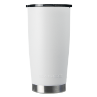 20oz White Gator Coated Tumbler