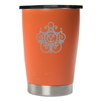 12oz Orange Promo Lowball Tumbler