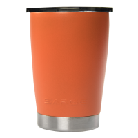 12oz Orange Lowball Tumbler