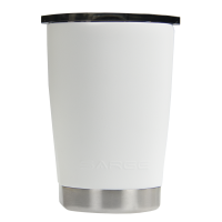 12oz White Lowball Tumbler
