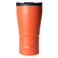 24oz Orange Flip Lid Tumbler