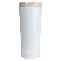 16oz White Java Tumbler