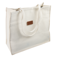 Beach Party - Canvas Wine Tote