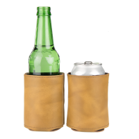 Rawhide - Leather Can & Bottle Cooler