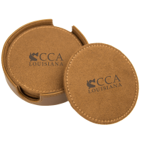 Water Warrior - Leather Coaster Set