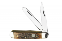 Mini Trapper - 2 Blade Jigged Bone Folder