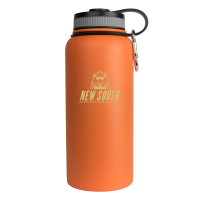 32oz Orange Wave Bottle