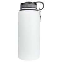 32oz White Wave Bottle